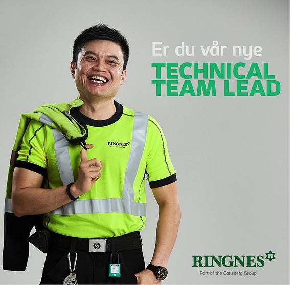 Vi søker teknisk teamleder til vår Vedlikeholdsavdeling